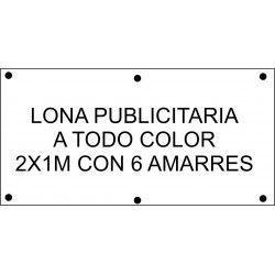 Lona Publicitaria 200x100