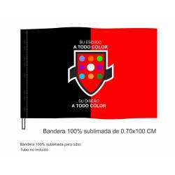 Bandera Sublimada Tubo...