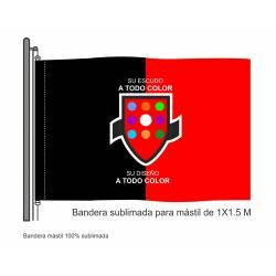 Bandera Mástil Sublimada 1...
