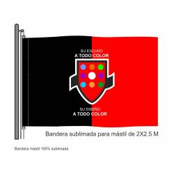 Bandera Mástil Sublimada 2...
