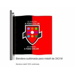 Bandera Mástil Sublimada 3...