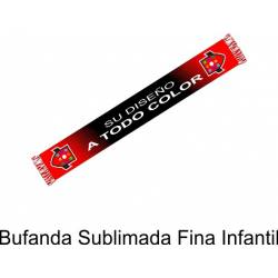 Bufanda Sublimada Fina...