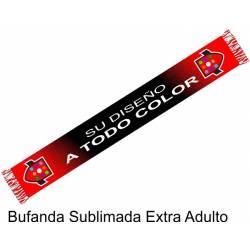 Bufanda Sublimada Extra ADULTO