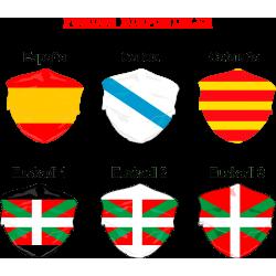 Mascarilla Banderas Sin...